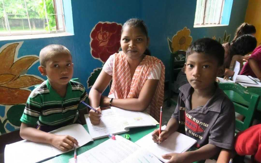 Sisters' outreach and neighborhood activities come alive in Dharan, Nepal
