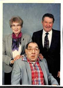 Sister Mary Eula and her brothers Victor and Eugene