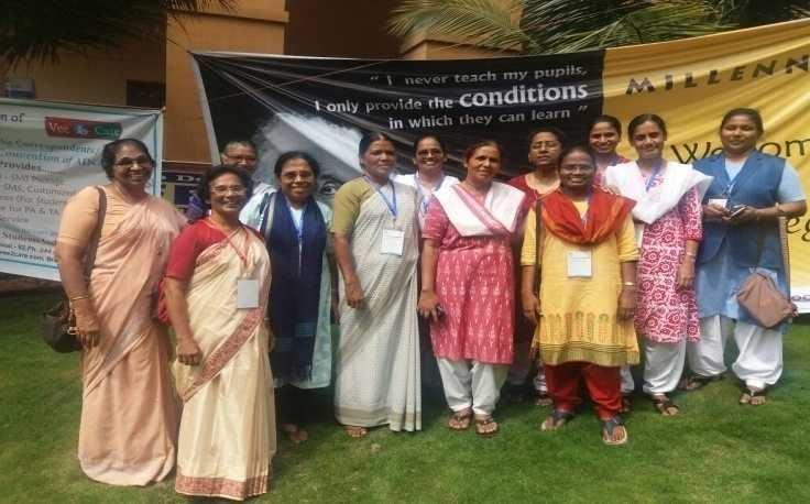 SCN Educators in India attend National Convention of Catholic Educators