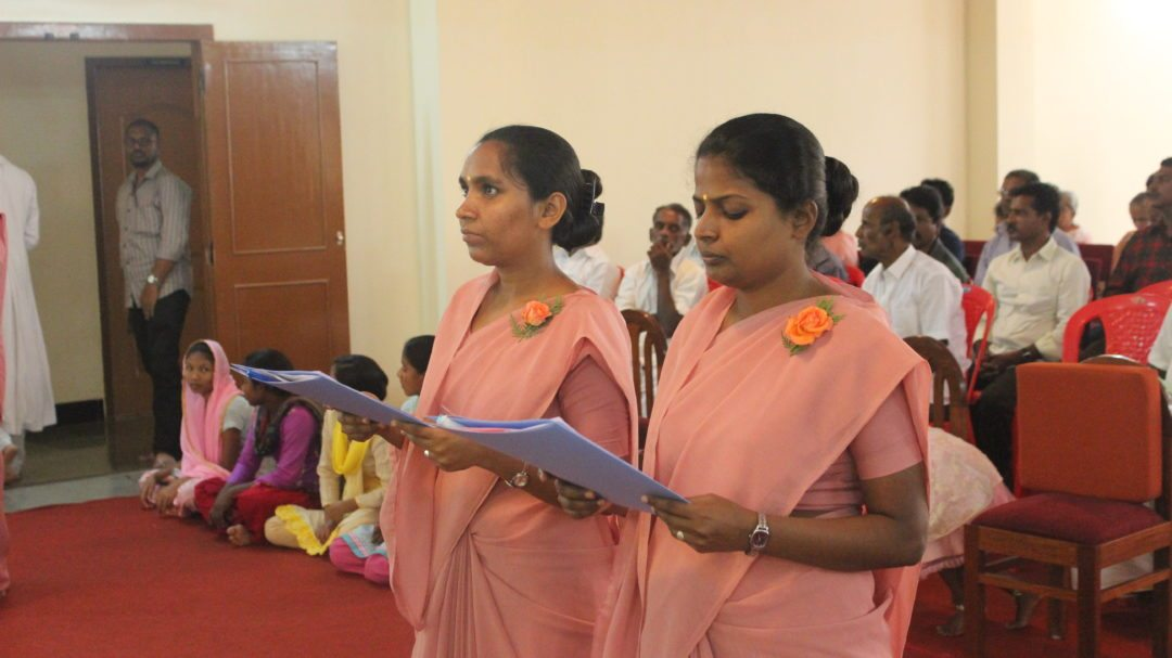 Sisters pronounce perpetual vows in Bangalore