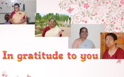 'Thank you' to leaders in Bangalore Province
