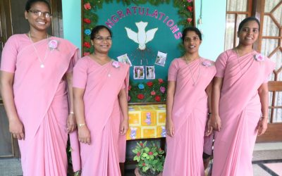 Sisters make their perpetual vows at 'Motherhouse' of India