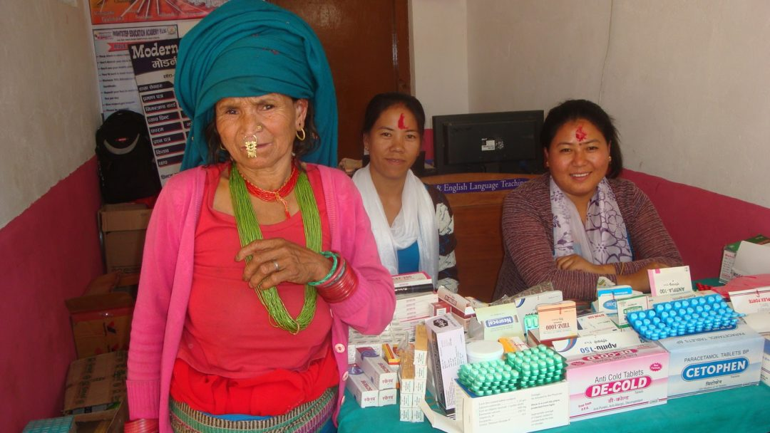 Sisters host health camp in Nepal
