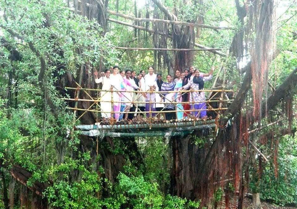 Novices visit bio reserve