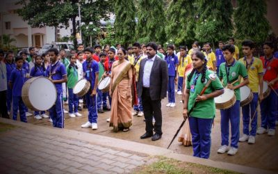 Cultural extravaganza marks Independence day celebrations at Nazareth School, Bangalore
