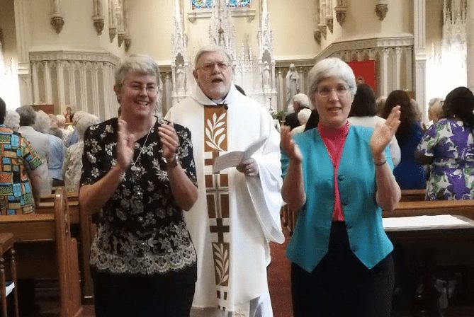 Sister Judy Donohue makes first vows