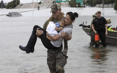 Our hearts go out to those affected by Hurricane Harvey