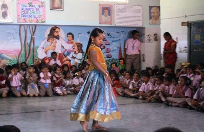 Cultural Festival at Nazareth School, Chandapura
