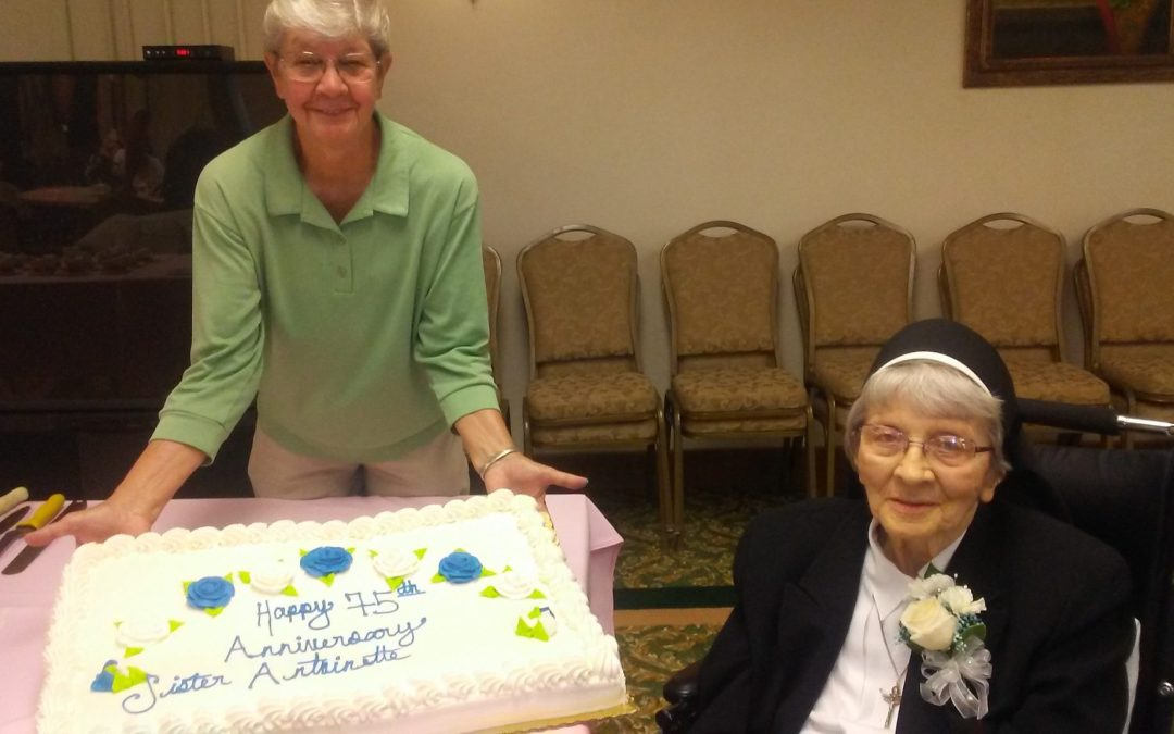 Sister Antoinette celebrates Jubilee