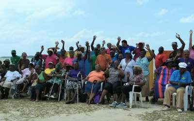 A special day for seniors in Belize City