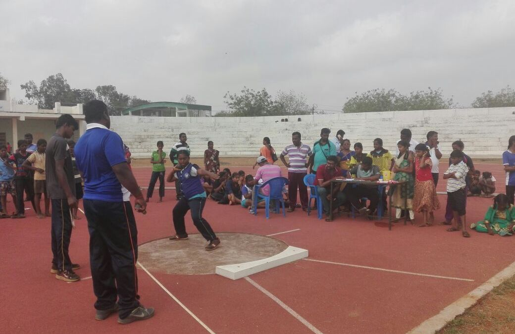 Students of St. Vincent's School, Trichy shine in sports meet
