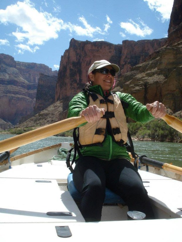 CSUF assistant professor Natalie Bursztyn developed an app that lets students take a virtual field trip to such places as the Grand Canyon and Yosemite. (Photo courtesy of Jennifer Pemberton)