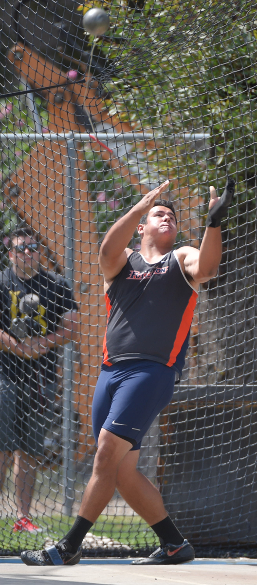 Trevor Gorwin, a junior, looks forward to the Big West Championships in May (Photo courtesy of Matt Brown).