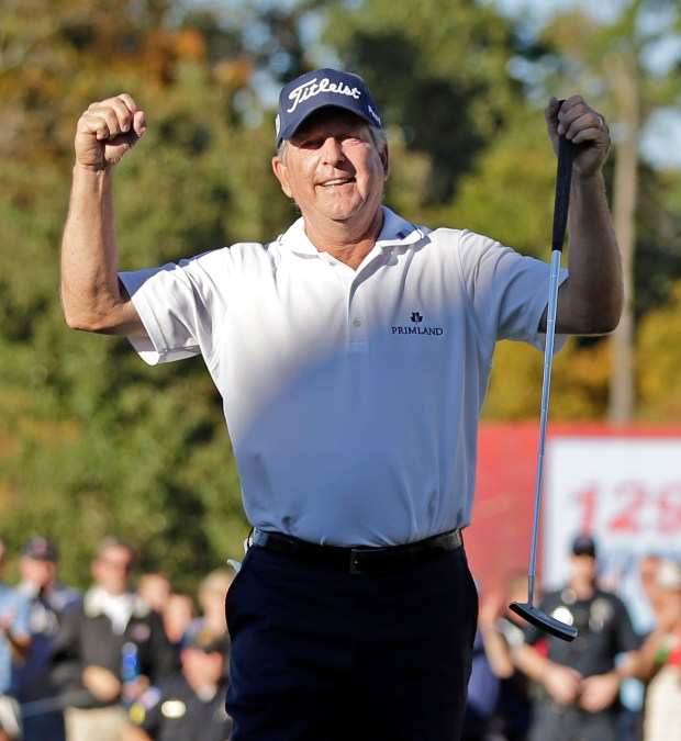 Jay Haas has enjoyed a successful career, both on the PGA and Champions tours.