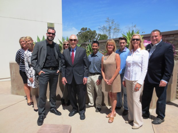 The Laguna Niguel Chamber of Commerce celebrated new businesses in town with a multi-member ribbon cutting ceremony. (Courtesy of the LNCC)