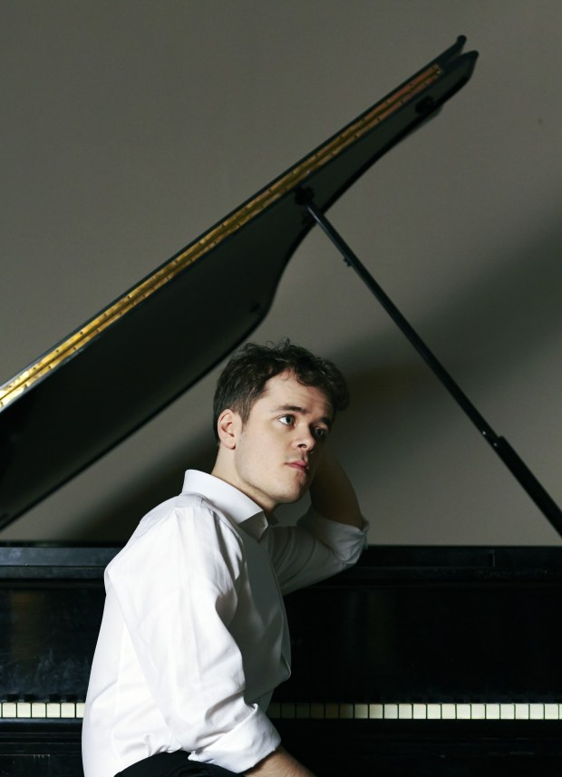 British pianist Benjamin Grosvenor made his Orange County debut on Wednesday night. (Sophie Wright, Decca)