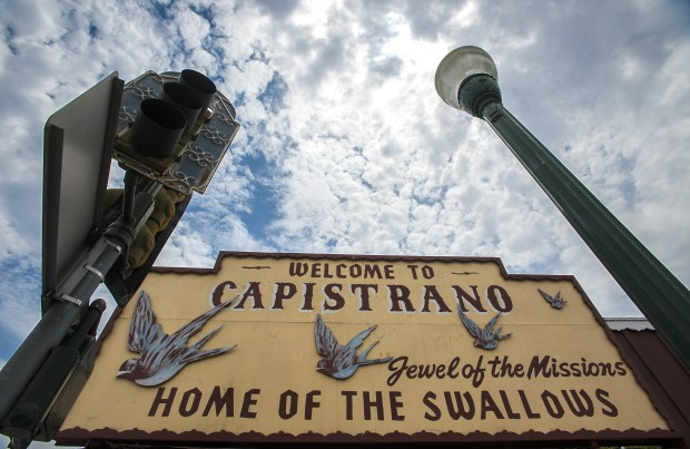 The San Juan Capistrano City Council is considering whether to file a complaint with the Federal Aviation Administration over new flight paths that some say create so much noise they are impacting their quality of life.  (File photo: Bruce Chambers, Orange County Register/SCNG)