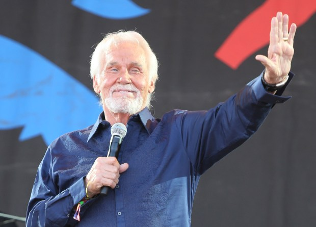Country music legend Kenny Rogers will bring his The Final World Tour to Pacific Amphitheatre in Costa Mesa on Sunday, July 30 with support from Linda Davis. (Photo by Joel Ryan, Associated Press)