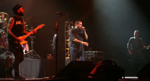 Alien Ant Farm will perform at the Riverside Municipal Auditorium. (File photo by David Bauman)