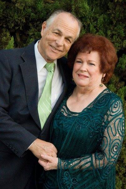 Griff Duncan with his wife, Jan. (Courtesy Fullerton Civic Light Opera)