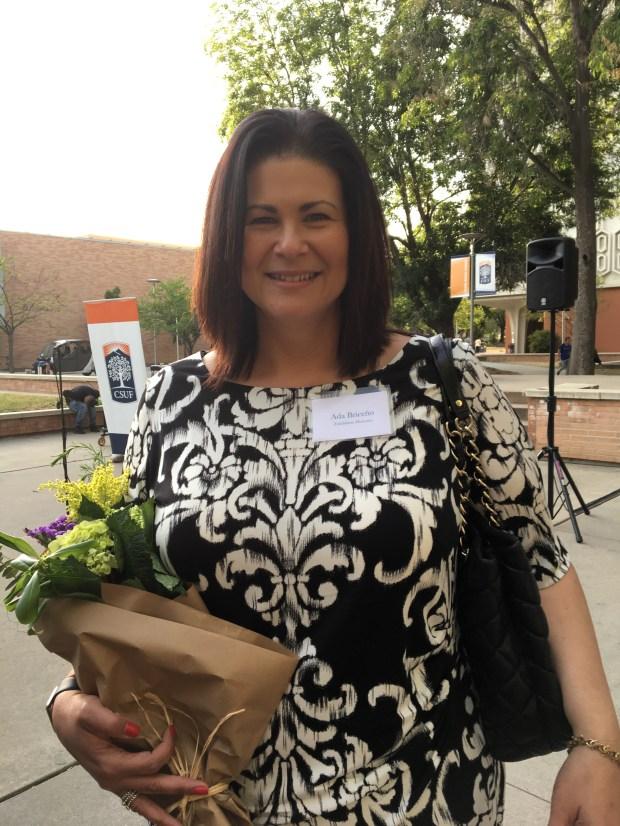 Ada Briceño, labor union leader (Courtesy of Cal State Fullerton)