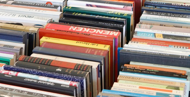Books will be on sale for $1 each at the Leatherby Libraries' 10th Annual Book Sale from 9 a.m. to 3 p.m. Friday, April 8.