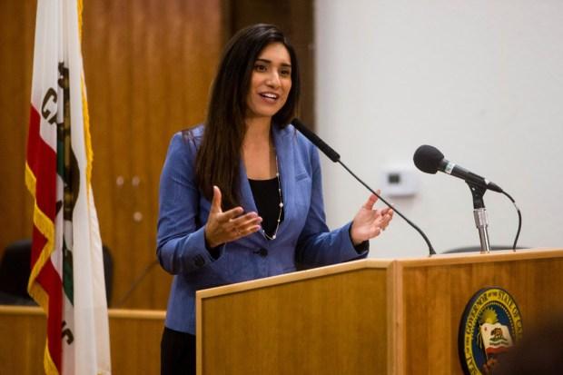 Assemblywoman Sabrina Cervantes, D-Riverside.