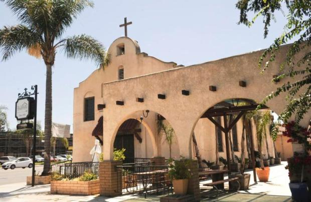 St. Isadore Historical Plaza is one gem in Los Alamitos. FILE PHOTO