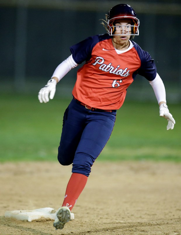 Heritage's Janae Hernandez (Photo by Terry Pierson, The Press-Enterprise/SCNG)