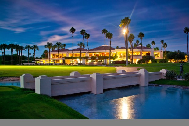 The clubhouse at Mission Hills Country Club recently underwent a renovation project to enhance the offerings.
