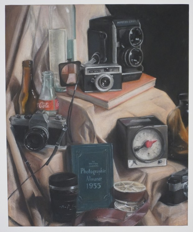 """""""Still Life"""" by Lilian Nguyen of University High School was awarded first place in the High School Art Exhibition hosted by the Irvine Fine Arts Center."""