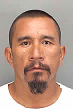 Ramon Rojas, 46, of San Jacinto, is suspected of peeking into windows in the city on Wednesday morning, May 3, 2017. (Photo courtesy of the Riverside County Sheriff's Department)