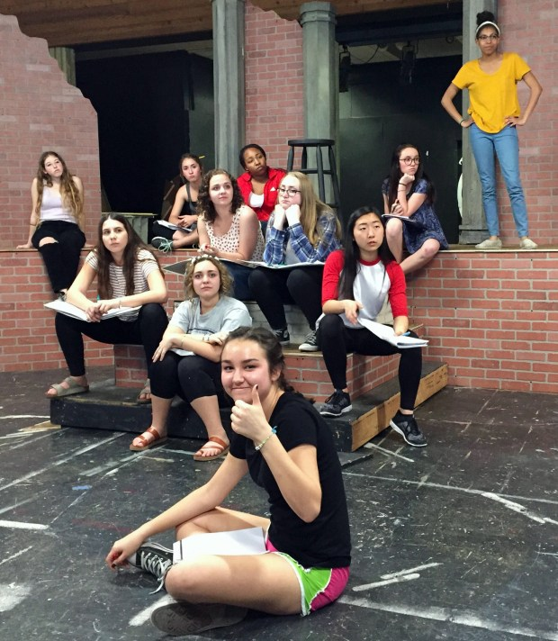 "Temecula Valley High School's ""Godspell"" will feature an all-female cast, and is set in a contemporary era: a rock n' roll concert, moments before the first curtain. Courtesy of Derek Heid"
