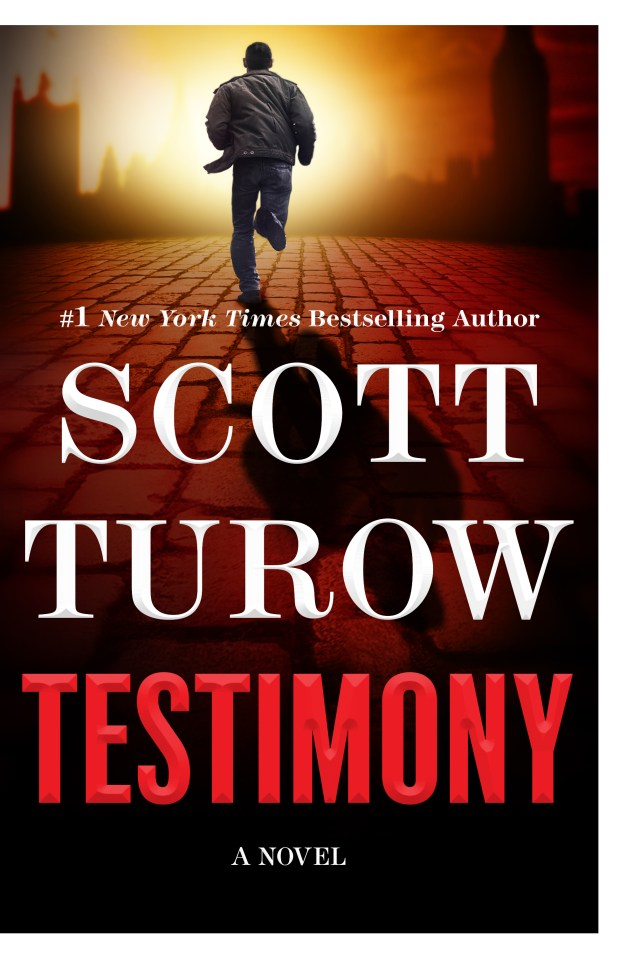 """""""Testimony"""" is the new thriller from Scott Turow."""