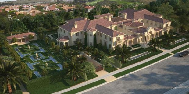 Villa de Formosa will be Orange County's biggest mansion when completed with about 52,000 square feet of living space. The builder broke ground in August 2014.