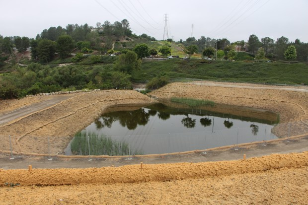 The pools at Dairy Fork will help kill bacteria in the water. COURTESY OF KELLY TOKARSKI