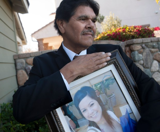 Dr. Robert Olvera's daughter Emily Rose died of cancer in 2014, two years before the End of Option Act or assisted death became legal in California. Olvera lobbied legislators to get that law passed because his daughter died a painful death begging for, but not getting, that option.(File photo by ANA VENEGAS, ORANGE COUNTY REGISTER/SCNG)