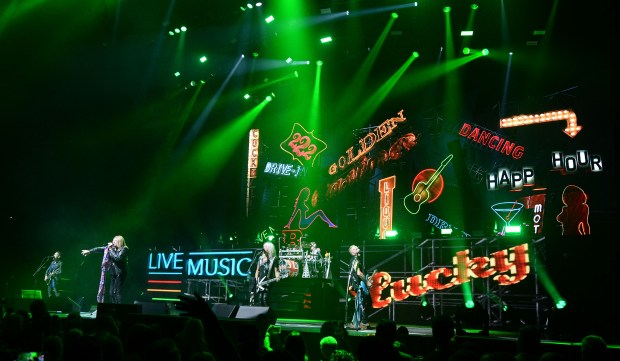 Def Leppard performs before a sold out crowd Wednesday night June 14, 2017 at Citizens Business Bank Arena in Ontario. Photo by Will Lester, Inland Valley Daily Bulletin/SCNG