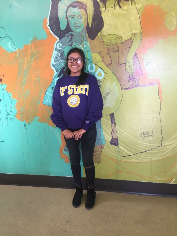 Jessica Vazquez, Costa MesaSan Francisco State University: sociology (Photo courtesy of Jessica Vazquez)