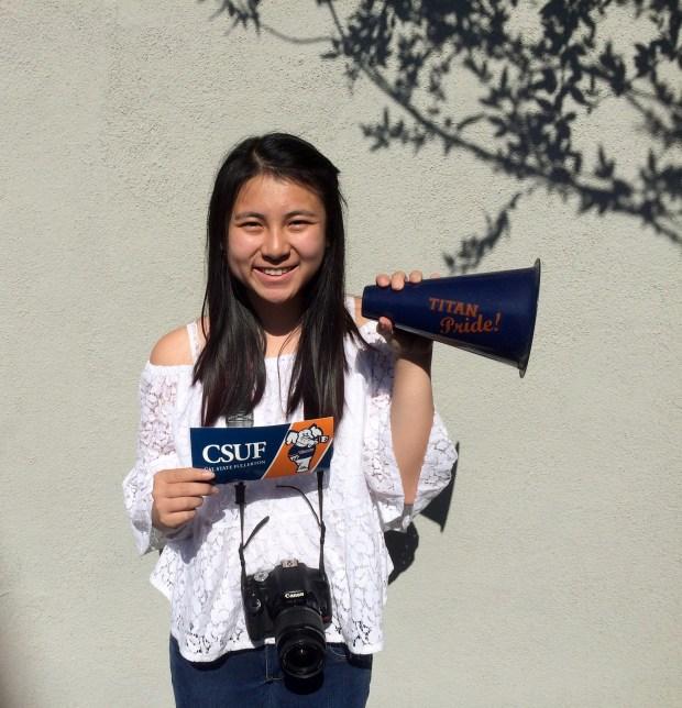 Michelle Do, ValenciaCal State Fullerton: nursing, undeclared major; art, undeclared minor (Photo courtesy of Michelle Do)