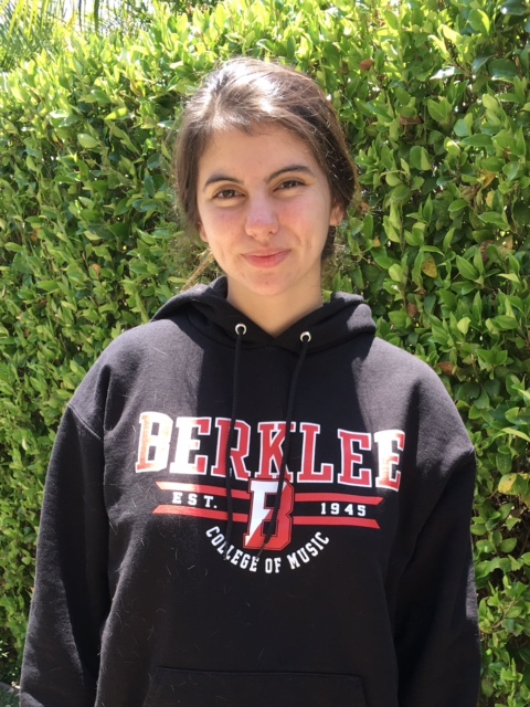 Cami Wilson, Santa Margarita CatholicBerklee College of Music: music production and engineering (Photo courtesy of Cami Wilson)