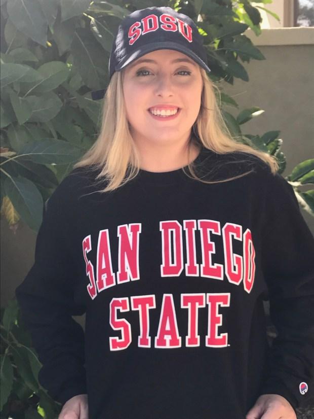Elyse Alves, Orange LutheranSan Diego State University: undecided (Photo courtesy of Elyse Alves)