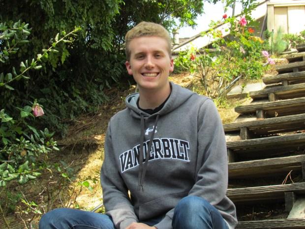 William Schmid, FoothillVanderbilt University: engineering science, undeclared major (Photo courtesy of William Schmid)