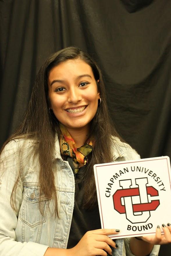 Jocelyn Cruz-Garcia, El DoradoChapman University: digital arts major; graphic design, undeclared minor (Photo courtesy of Jocelyn Cruz-Garcia)