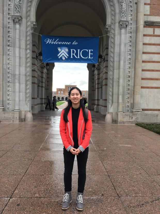 Brianna Satow, OCSARice University: music (Photo courtesy of Brianna Satow)