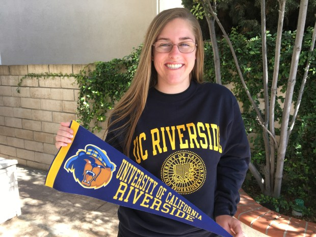 Emily Garreton, Capistrano ValleyUC Riverside: psychology (Photo courtesy of Emily Garreton)
