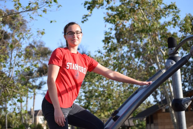 Hannah Galvez-Arango, Fountain ValleyStanford University: anthropology, undeclared major; urban studies, undeclared minor (Photo courtesy of Hannah Galvez-Arango)