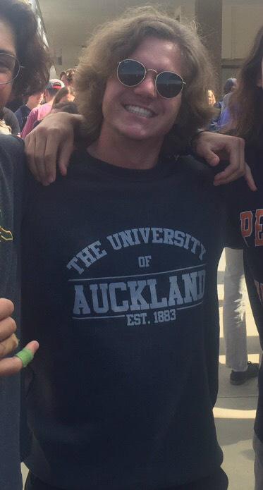 Robert Garrett, Corona del MarUniversity of Auckland: commerce (Photo courtesy of Robert Garrett)