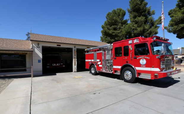 The City of Lake Elsinore may shut down the engine to save money at Lake Elsinore's fire engine at Station 10 in Lake Elsinore Wednesday, June 14, 2017. FRANK BELLINO, THE PRESS-ENTERPRISE/SCNG