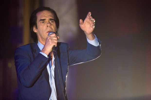 Nick Cave and the Bad Seeds perform at The Theatre at Ace Hotel in Los Angeles on Wednesday, June 28, 2017. (Photo by Matt Masin, Orange County Register, SCNG)
